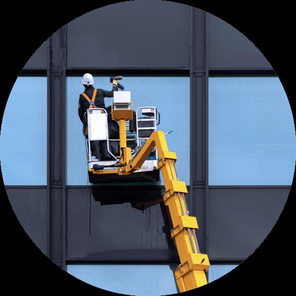Pegra Reinigungsdienste-Fassadenreinigung